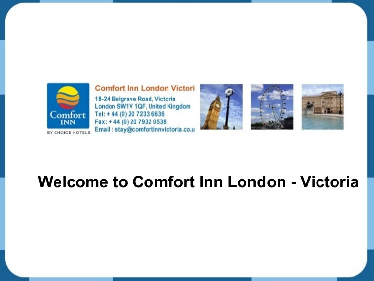 Comfort In London Victoria Hotels Near Victoria Station