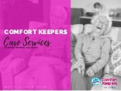 Comfort keepers Care Services San Mateo