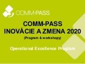 COMM-PASS Inovácie a zmena 2020 - prehľad programu