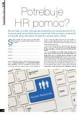 Potrebuje HR pomoc?