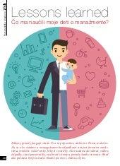 Lessons learned - Čo ma naučili moje deti o manažmente?