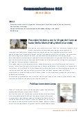 OCD COMMUNICATIONES 313 - CURIA GENERAL