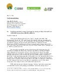 Letter from Radical Enviro Groups Requesting BLM Halt Permits for Fracking in Wayne National Forest