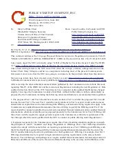 JOBS Act Rulemaking Comments on SEC File Number S7-11-13 Dated March 26, 2014 Part 2