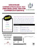 Commerce proficiency test   cpt for commerce students - national level competition
