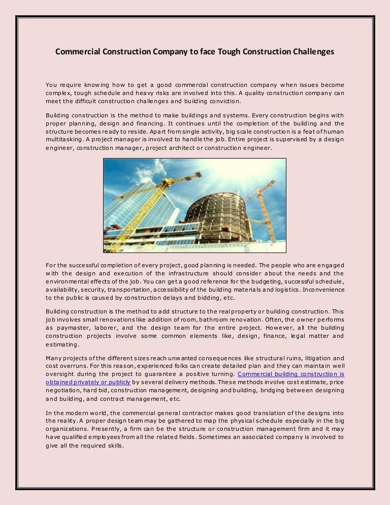 commercialconstructioncompanytofacetoughconstructionchallenges 141219060452 conversion gate02 thumbnail 4jpgcb1418969119