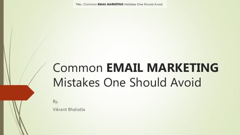 Image result for email marketing common mistakes  images