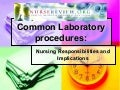 NurseReview.Org Common Laboratory Procedures