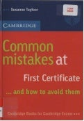 Common mistakes-at-first-certificate (1)