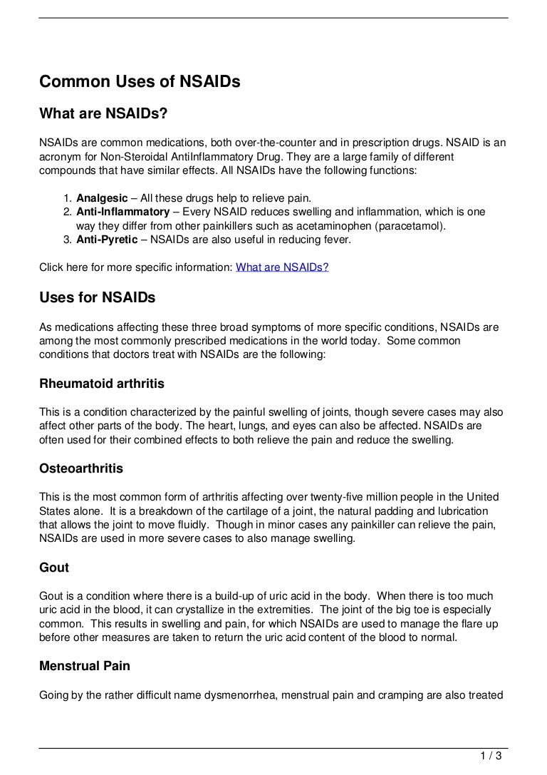 images What Are NSAIDs