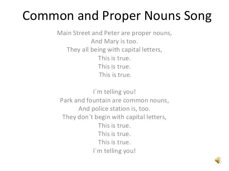 Nouns:Common,Proper,Collective,Pronouns - Lessons - Tes Teach