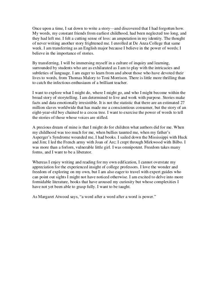 common app essay format