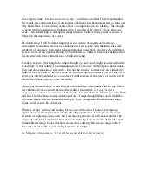 Common app essay sample 2
