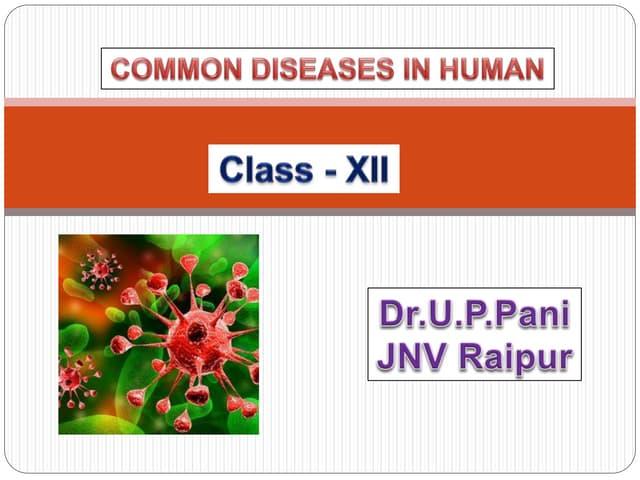 Common diseases in Human