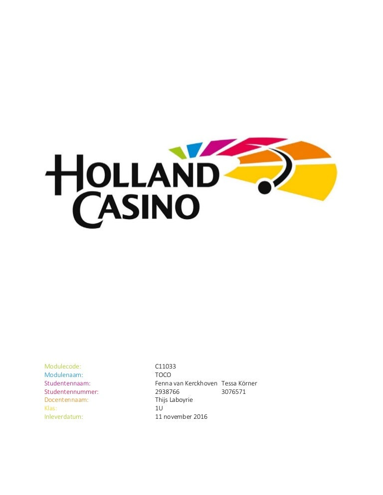 Consumptie holland casino casino argent gratuit