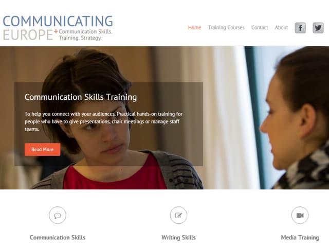Communicating europe+ presentation skills materials