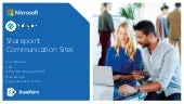 Sharepoint Communication sites Meetup