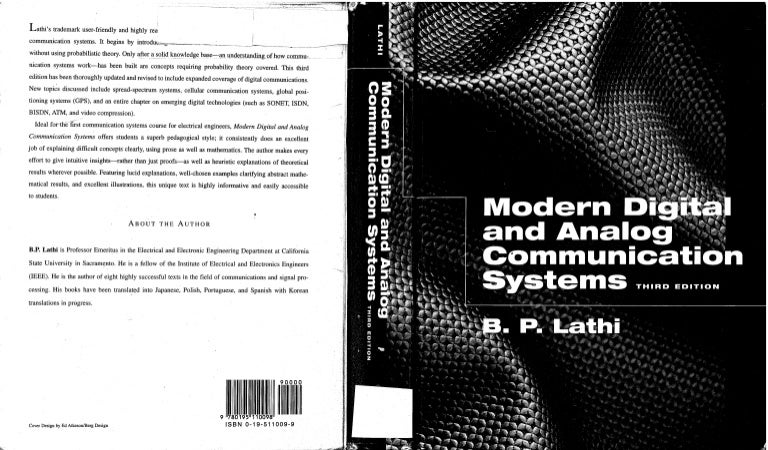 B P Lathi Ebook