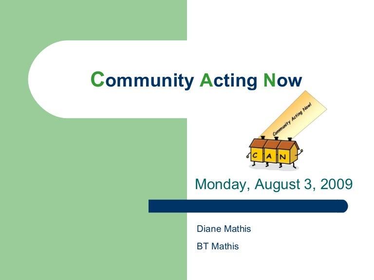 community acting now aug3 fina lslides 2
