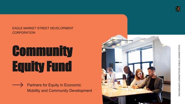 Community equity fund deck
