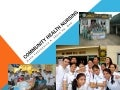 Community Health Nursing (complete)
