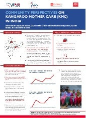 Community Perspectives on Kangaroo Mother Care (KMC) in India