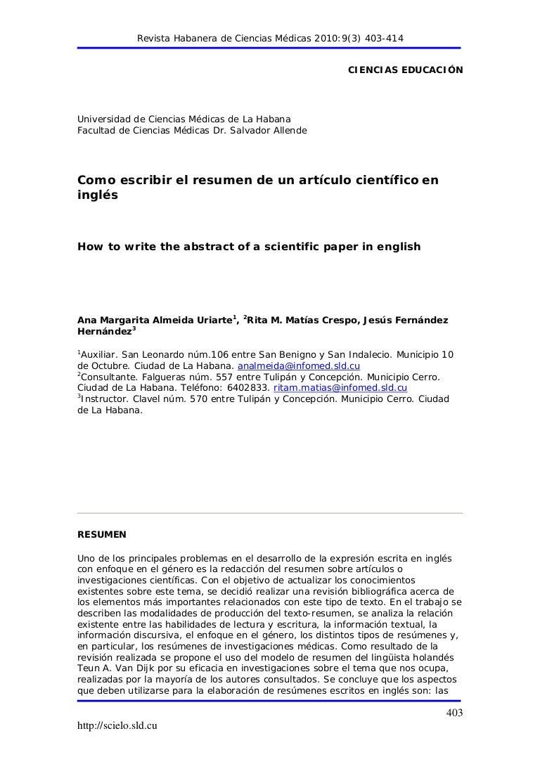 Excelente Reanudar Cómo Escribir Un Resumen Adorno - Ejemplo De ...
