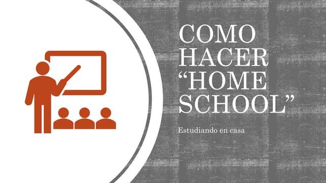 """Como hacer """"Home School"""" (clases en línea)"""