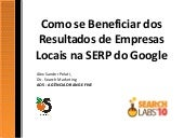 Como se Beneficiar dos Resultados Locais do Google