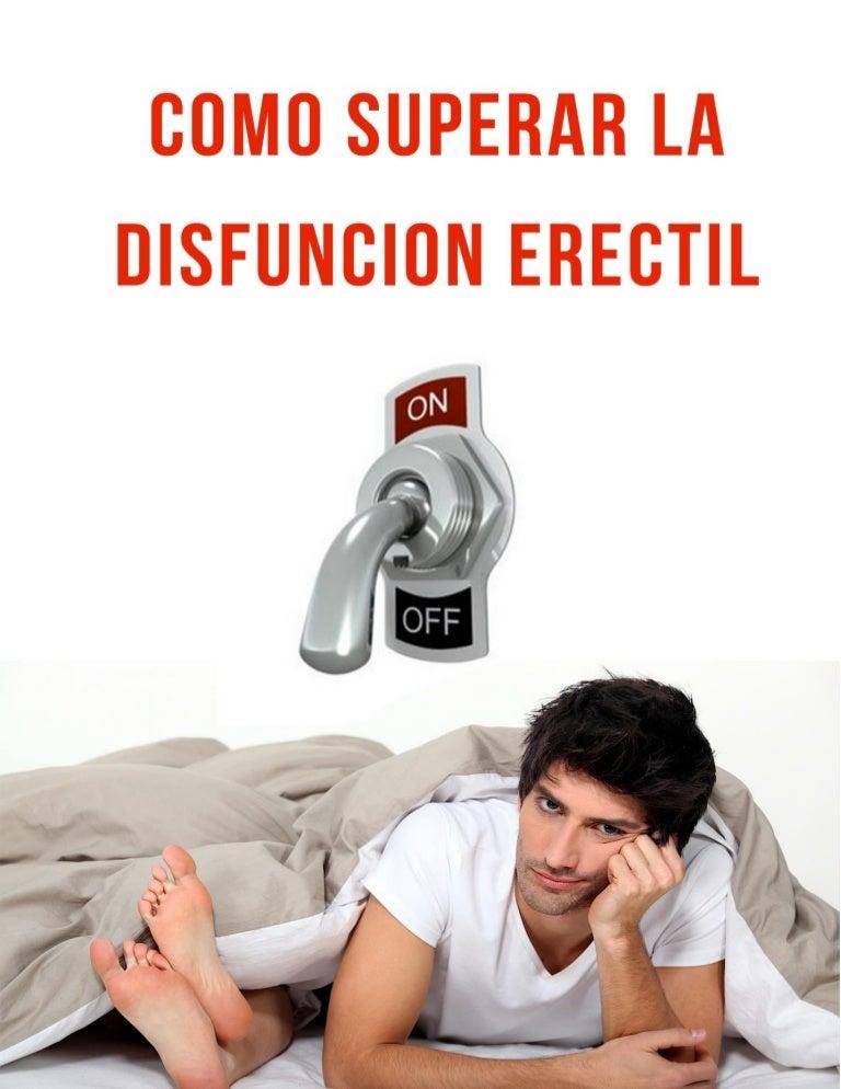 como corregir disfuncion erectil