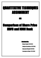 comparative study of icici and hdfc Comparative analysis of capital structure and its impact on profitability of pnb & hdfc  of sbi bank & icici bank  comparative study regarding to.