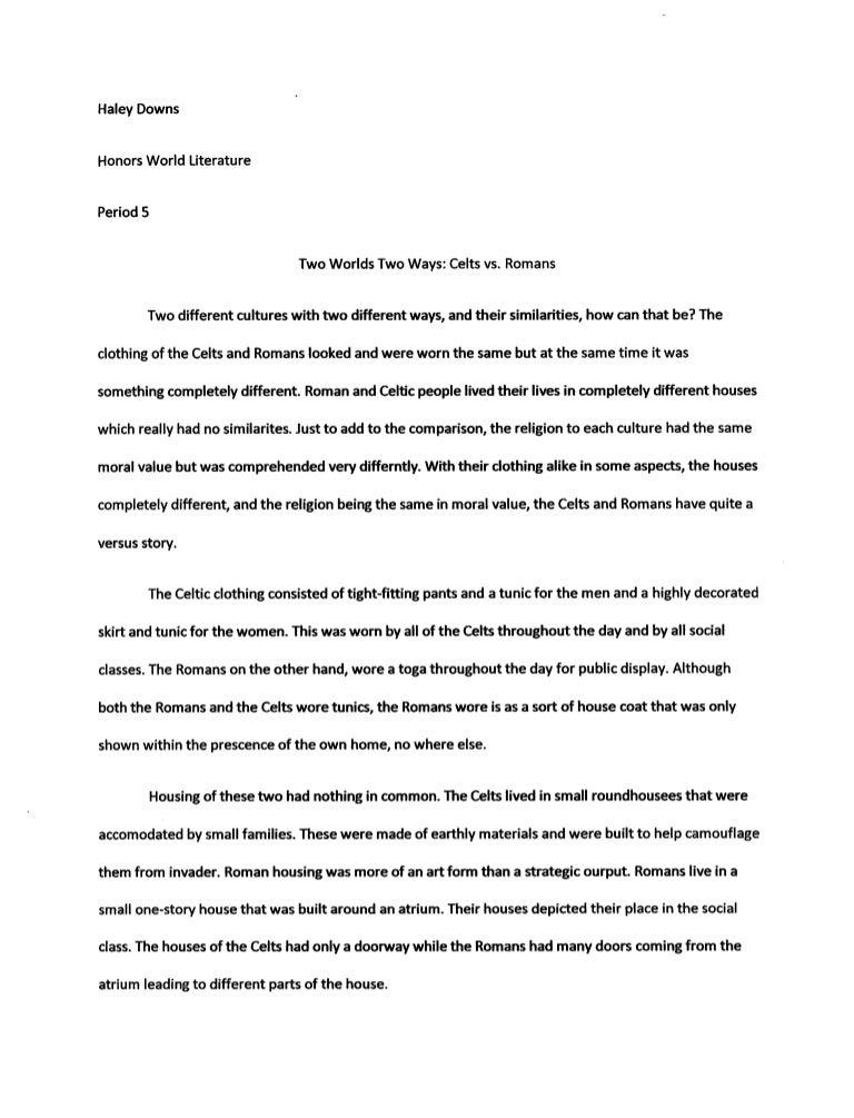world religions comparison essay