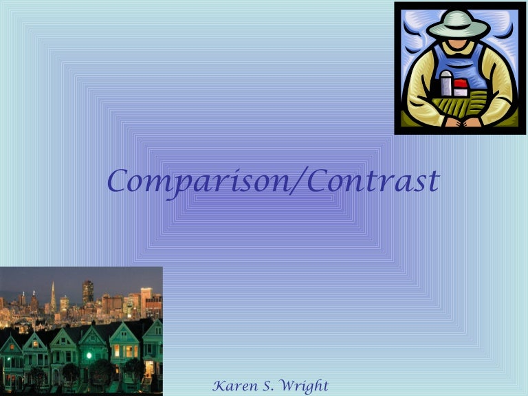 cover letter example of compare contrast essay examples of compare     SP ZOZ   ukowo