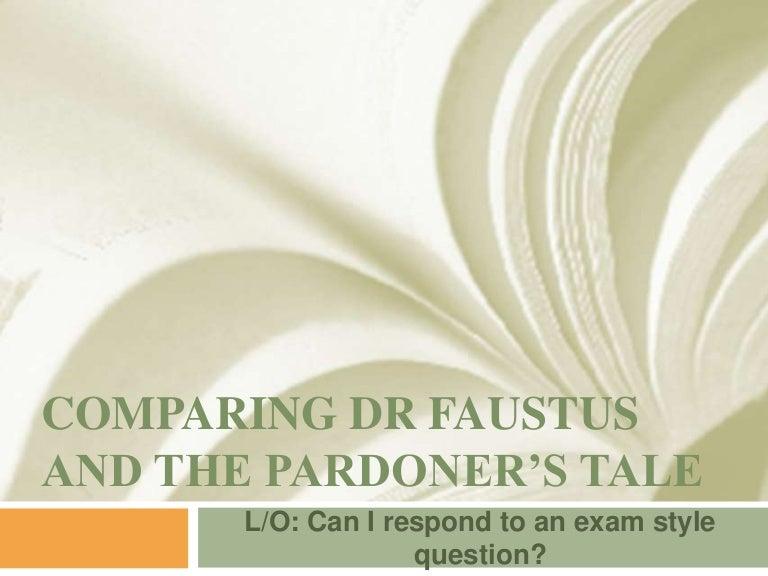 the pardoner's tale essay