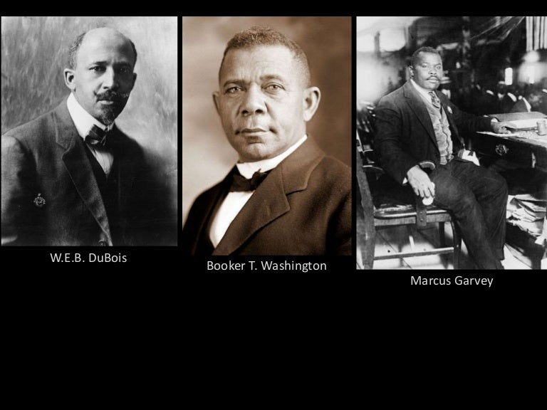 compare and contrast booker t washington and web dubois essay The second is from a book by web dubois, a civil rights activists, the first african-american harvard graduate, and a noted critic of booker t washingtonas you read, compare and contrast the passages and.