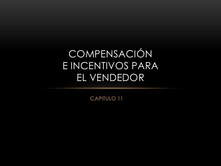 Compensación De Incentivos Para El Vendedor C11