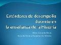 Competencias docentes en Historia