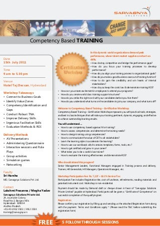 competency based training | linkedin
