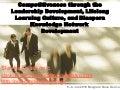 Compettevnes through leadesrhip development slavka draskovic