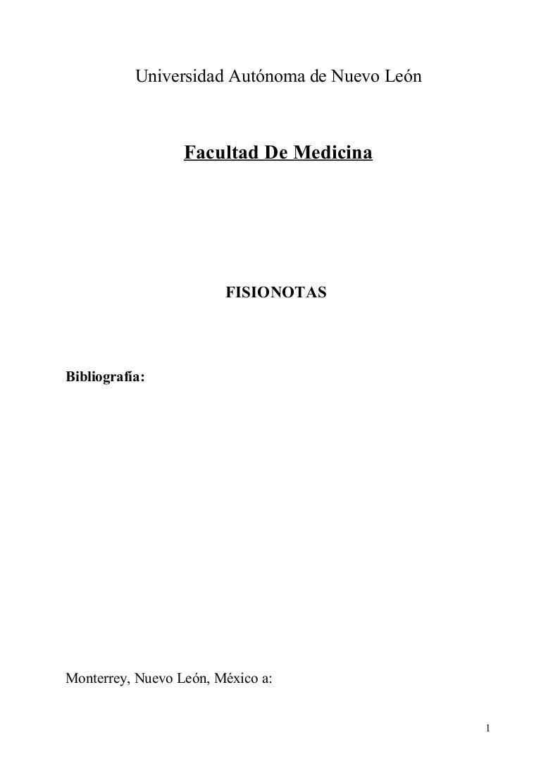 Compilación de fisiología