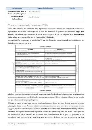 Complementos para la Formación Disciplinar - Actividad 1