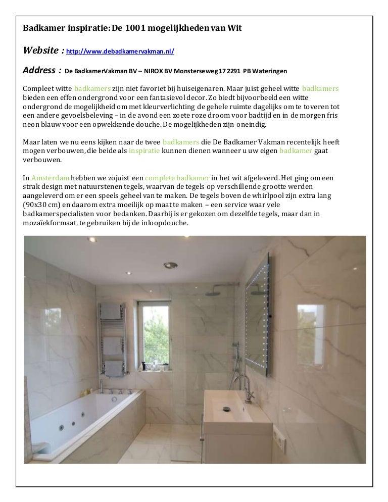Badkamer Verbouwen Reeds 700 Badkamers Verbouwd