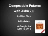 Composable Futures with Akka 2.0