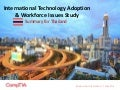 International Technology Adoption & Workforce Issues Study - Thailand Summary