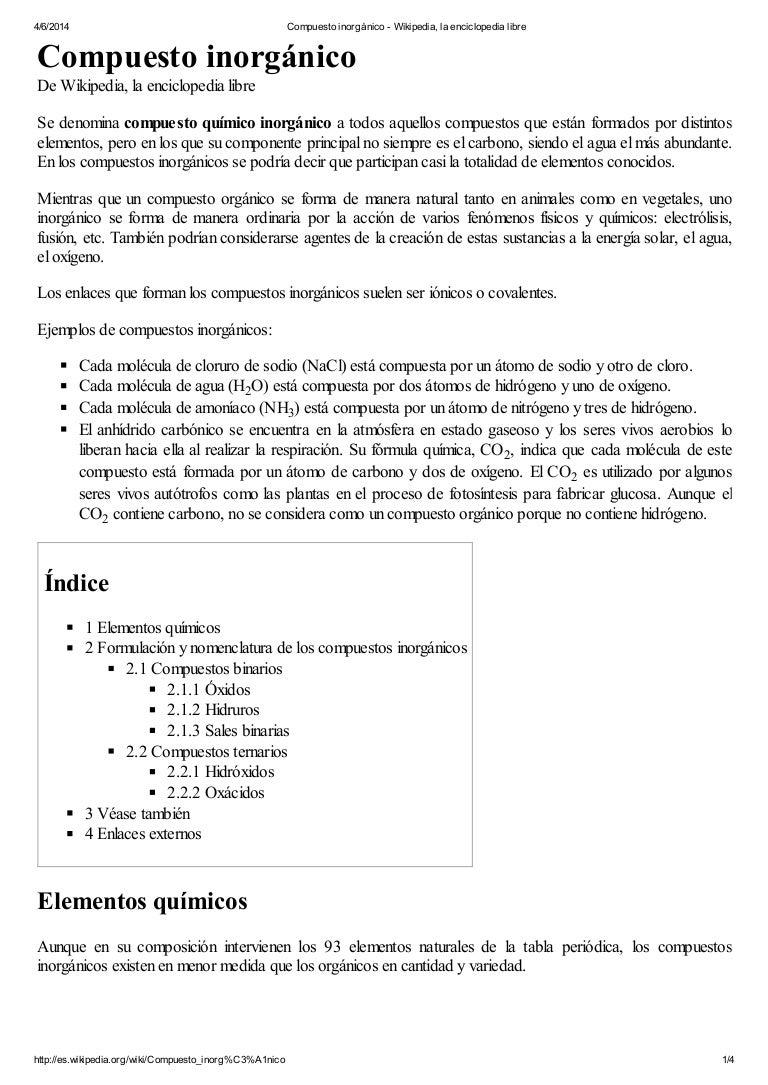 Compuesto inorgnico wikipedia la enciclopedia libre urtaz Images