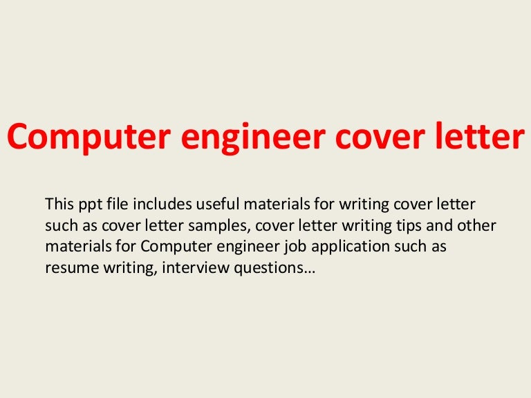 Computer engineer resume cover letter manufacturing buy business plan pro