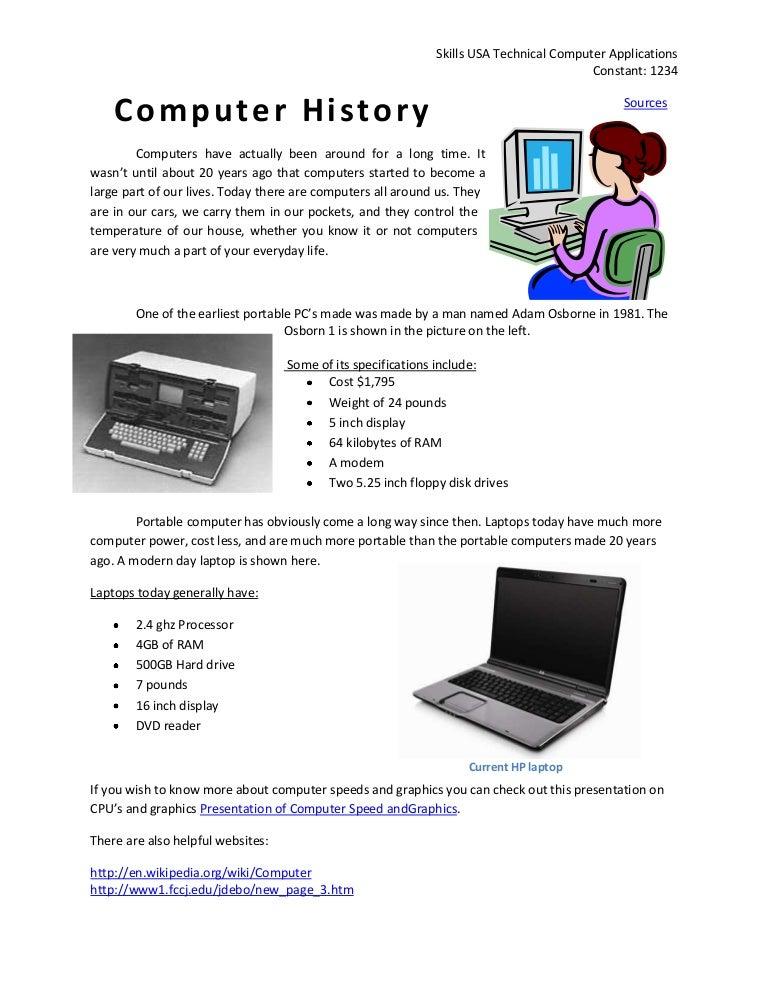 Computer History1234