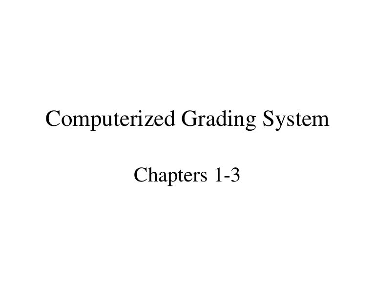 thesis about grading system Grading systems - school, higher education  the greater the number of units in the grading system the more precisely does it hope to quantify student performance.