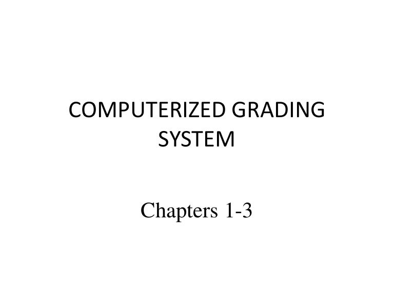 computerized enrollment system chapter 1 Chapter i the problem and its background 11 introduction recently, people therefore, the researchers decided to come up with a study entitled computerized inventory system for 2m trading that shall convert its manual process of managing the inventory into a computerized one.