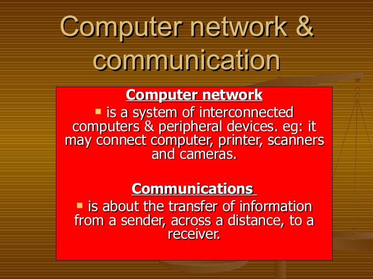 Computer network & communication answer
